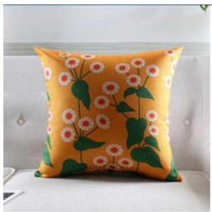 The floral garden cushion covers