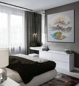 Oversized wall art, Extra large canvas F203-4