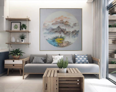 Oversized wall art, Extra large canvas F203-5