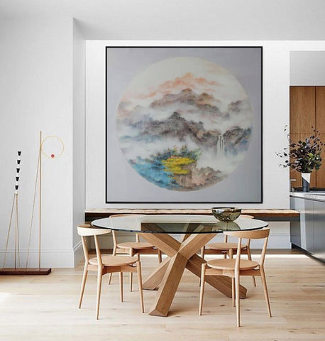 Image of Oversized wall art, Extra large canvas F203-7