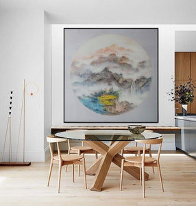 Oversized wall art, Extra large canvas F203-7