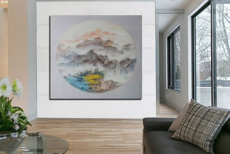 Oversized wall art, Extra large canvas F203-8