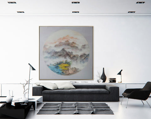 Image of Oversized wall art, Extra large canvas F203-9