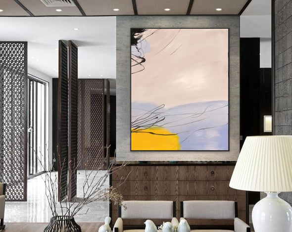 Large oil painting | Large abstract art F325-1