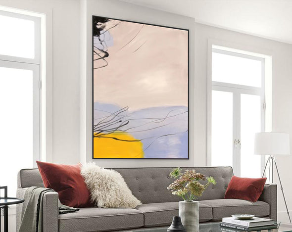Large oil painting | Large abstract art F325-2
