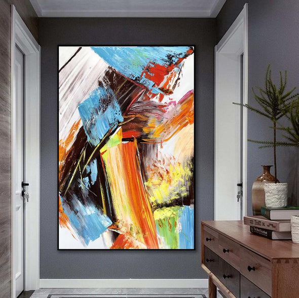 Famous oil painting | Abstract canvas painting F329-1
