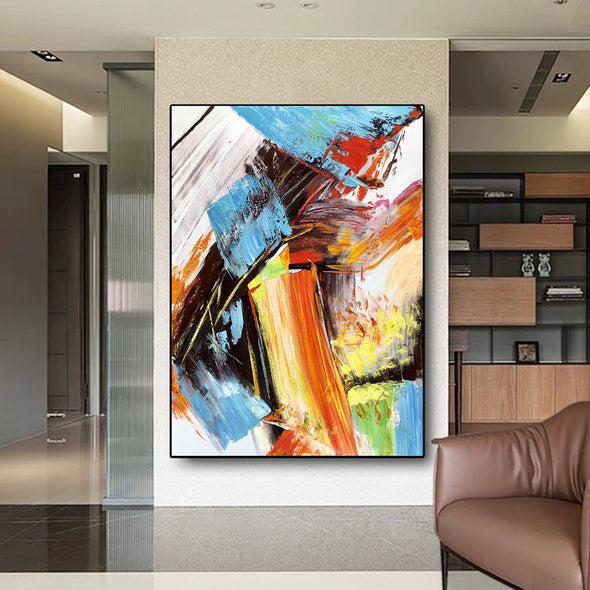 Famous oil painting | Abstract canvas painting F329-3