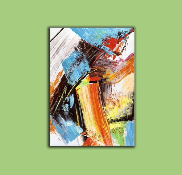 Famous oil painting | Abstract canvas painting F329-7