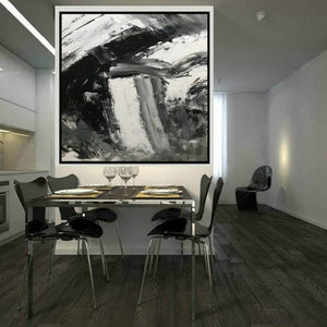 Large abstract painting  | Oil painting original F330-3