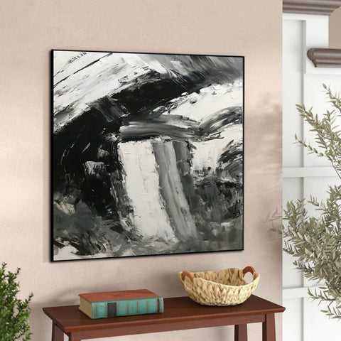 Image of Large abstract painting  | Oil painting original F330-6