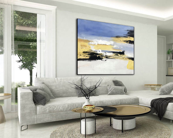Large original abstract painting | Oversized wall art F332-2