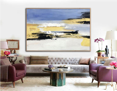 Large original abstract painting | Oversized wall art F332-8