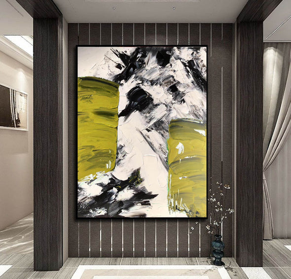 Canvas art painting | Acrylic abstract art F333-2