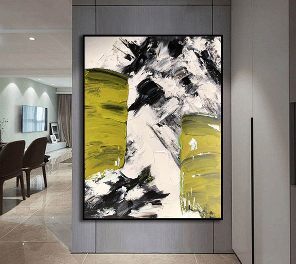 Canvas art painting | Acrylic abstract art F333-4