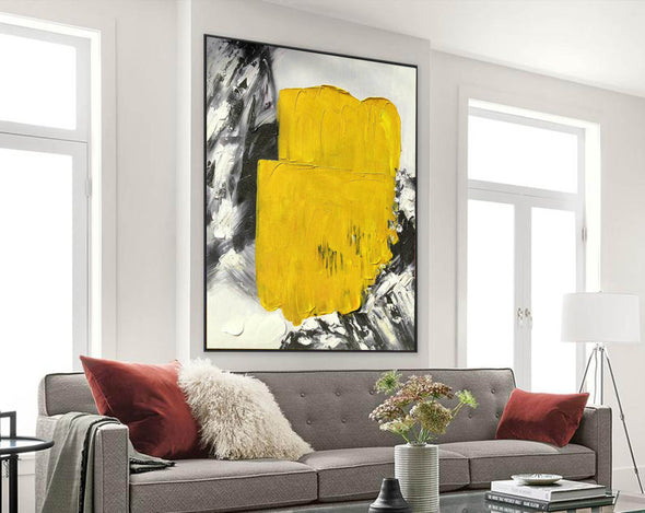 Large abstract painting | Modern contemporary art F336-9