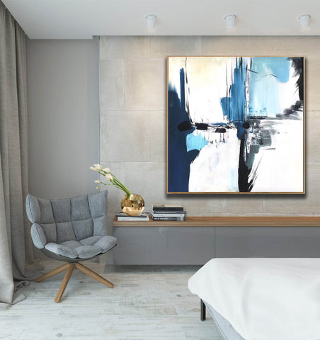 Image of Oversize Painting | Original large colorful painting F338-9