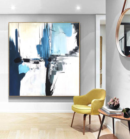 Image of Oversize Painting | Original large colorful painting F338-1