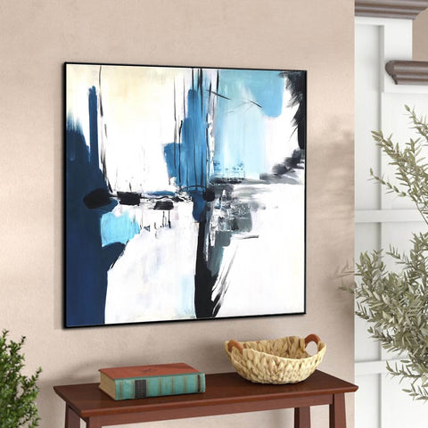 Image of Oversize Painting | Original large colorful painting F338-2