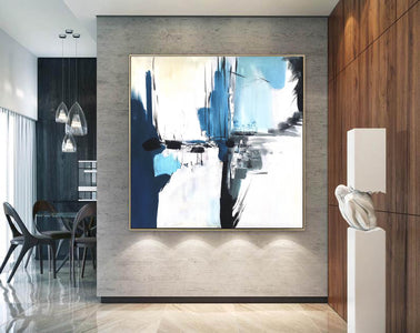 Oversize Painting | Original large colorful painting F338-4