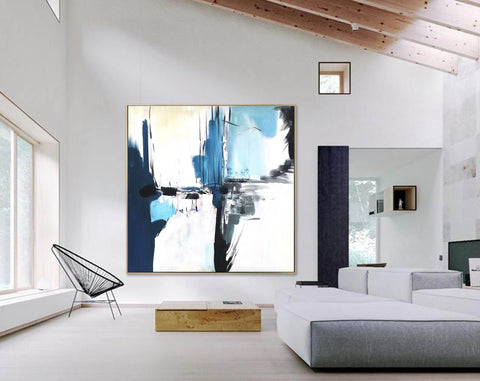 Image of Oversize Painting | Original large colorful painting F338-5