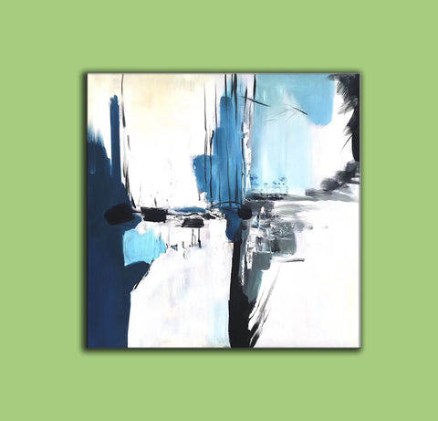 Image of Oversize Painting | Original large colorful painting F338-7
