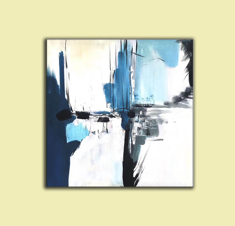 Image of Oversize Painting | Original large colorful painting F338-8