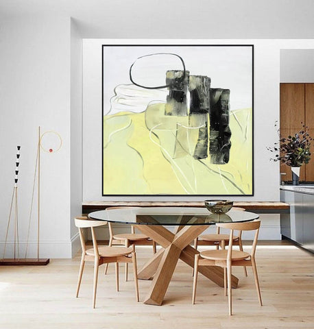 Image of Large Canvas Art | Contemperary Art F340