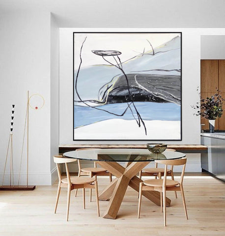 Modern abstract art | Large abstract painting F341-5