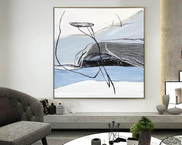 Modern abstract art | Large abstract painting F341-7