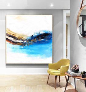 Oversized wall art | Oversized abstract wall art F343-1