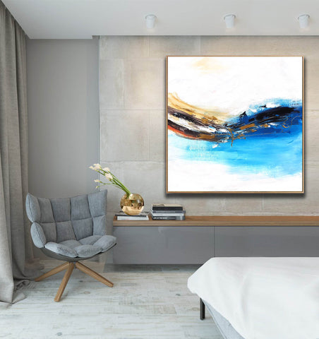 Image of Oversized wall art | Oversized abstract wall art F343-2