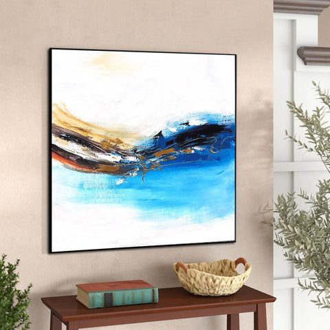 Image of Oversized wall art | Oversized abstract wall art F343-3