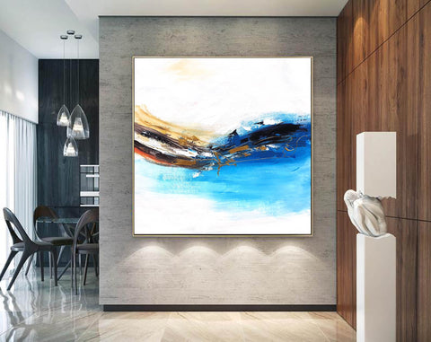 Image of Oversized wall art | Oversized abstract wall art F343-4
