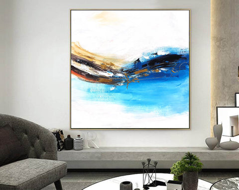 Image of Oversized wall art | Oversized abstract wall art F343-5