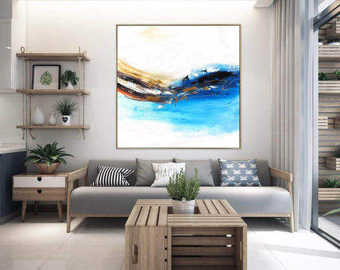 Image of Oversized wall art | Oversized abstract wall art F343-6