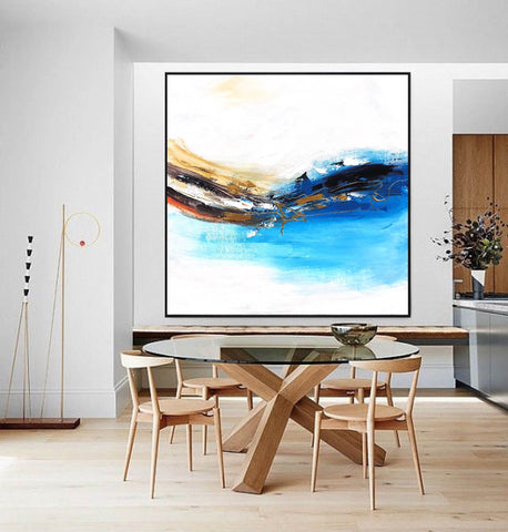 Image of Oversized wall art | Oversized abstract wall art F343-7