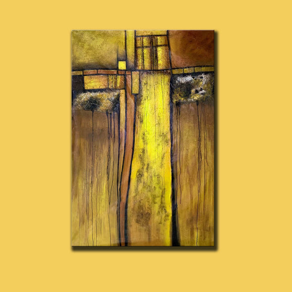 Original Abstract Painting | Large Wall Art Abstract Painting F344-4