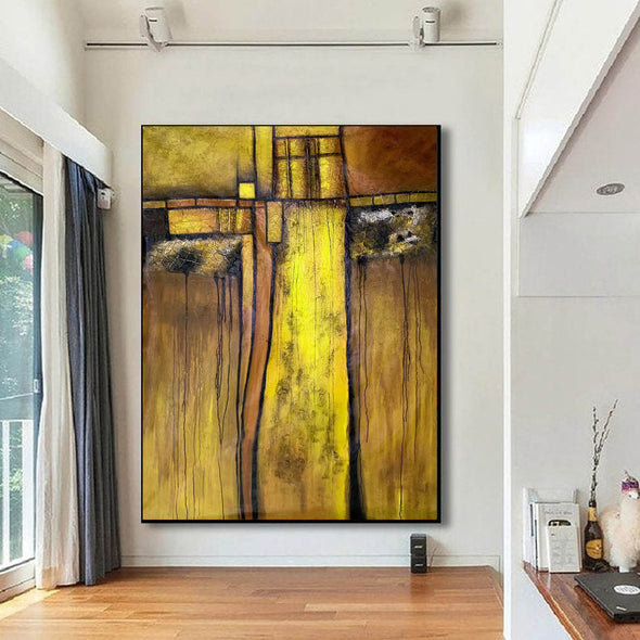 Original Abstract Painting | Large Wall Art Abstract Painting F344-7