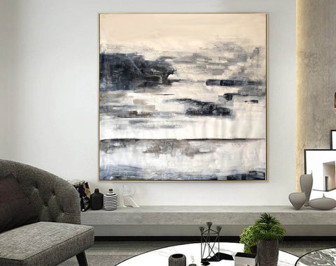 Image of Abstract painting | Large oil painting F348-2