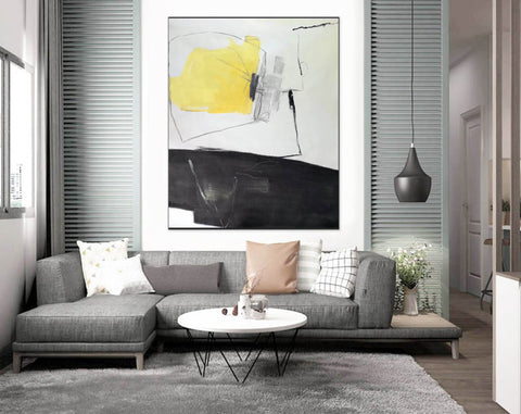 Extra Large Wall Art Textured Painting Original Painting | Abstract Painting F349-6