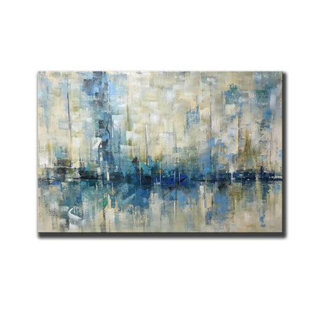 Image of Abstract canvas | Easy abstract painting F350-4