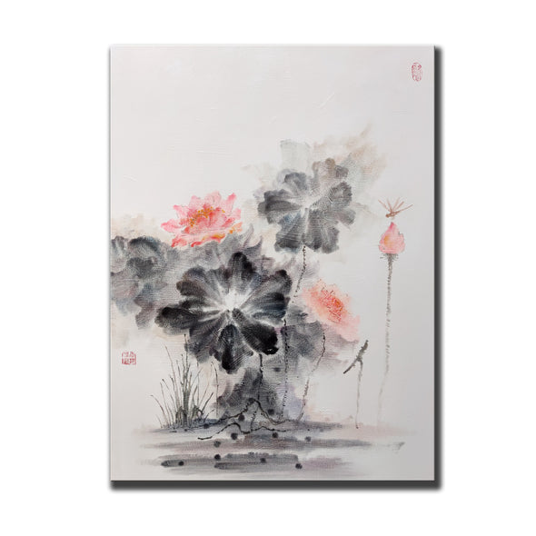 Abstract canvas art, Beautiful paintings F206-8