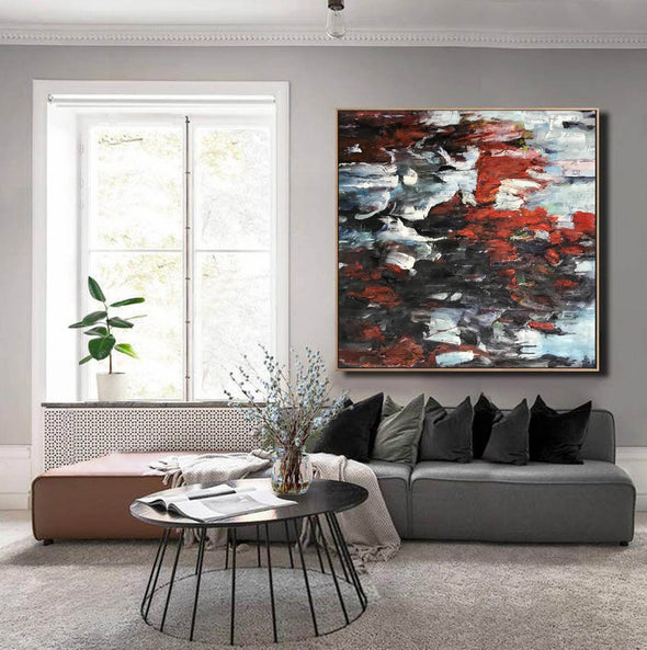 Abstract expressionism art | Abstract art paintings F352-9