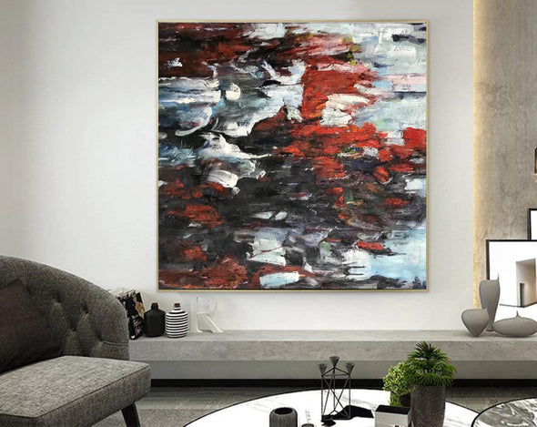 Abstract expressionism art | Abstract art paintings F352-2