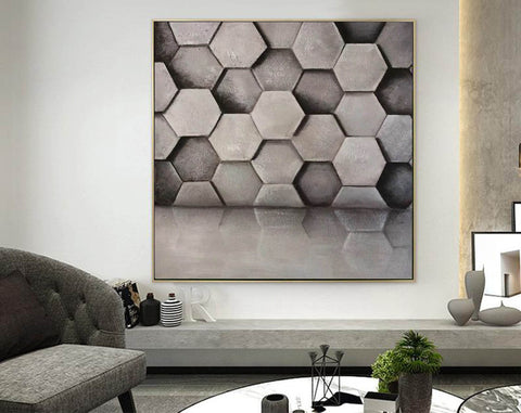 Image of Abstract canvas art | Beautiful paintings F354-9