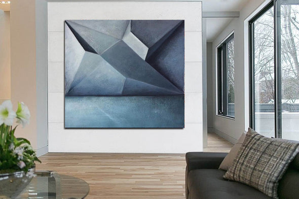 Contemporary painting | Abstract acrylic painting F355-1