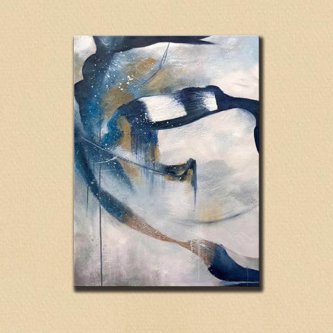 Image of Contemporary abstract wall art | Large canvas art abstract F357-3