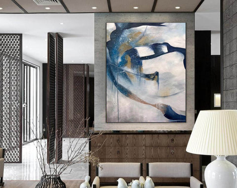 Image of Contemporary abstract wall art | Large canvas art abstract F357-6
