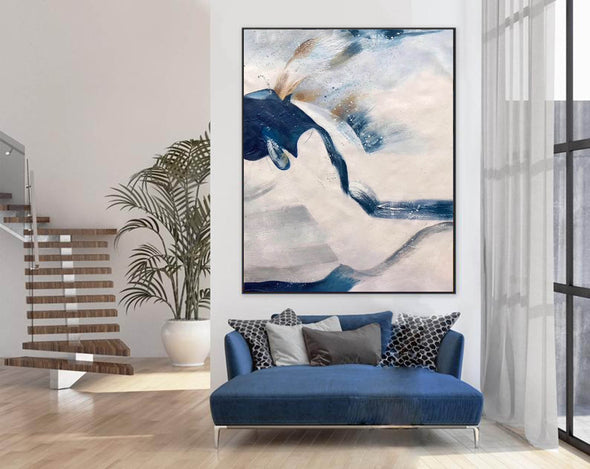 Large original abstract painting | Oversized wall art F358-5