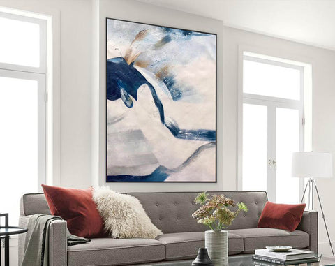 Image of Large original abstract painting | Oversized wall art F358-2